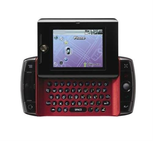 Không chỉ điện thoại dạng xoay, mà cả kiểu thiết kế dạng trượt cũng từng khuynh đảo làng di động trong quá khứ. Tuy nhiên cá biệt trong số những chiếc điện thoại dạng trượt phải kể tới trường hợp của chiếc Motorola Sidekick, khi nó trượt ngang thay vì trượt dọc như các mẫu điện thoại khác. Kiểu thiết kế này biến Sidekick trở thành thiết bị trông giống như một máy đánh văn bản cổ điển.
