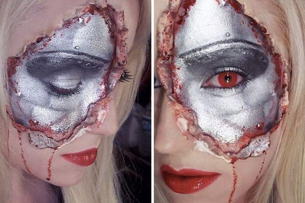 Những ý tưởng trang điểm kinh dị cho ngày lễ Halloween - 8