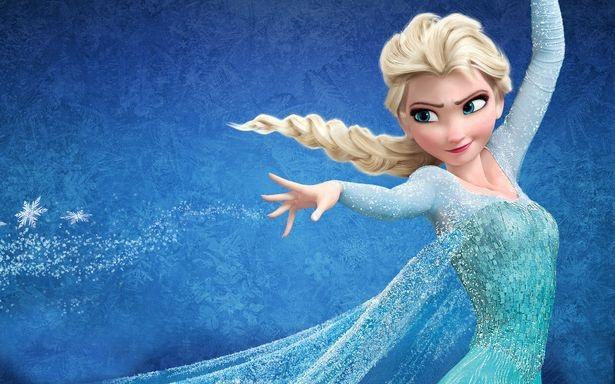 """Nàng Elsa trong """"Frozen"""" (Nữ hoàng băng giá - 2013)."""