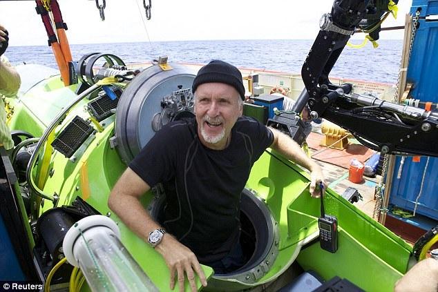 Đạo diễn James Cameron từng đến thăm xác tàu đắm Titanic nhiều lần.