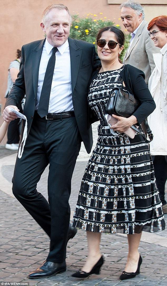 Salma đã có cuộc hôn nhân kéo dài 8 năm với doanh nhân tỷ phú người Pháp Francois-Henri Pinault.