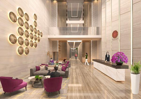 Thiết kế nội thất tòa nhà sang trọng như khách sạn