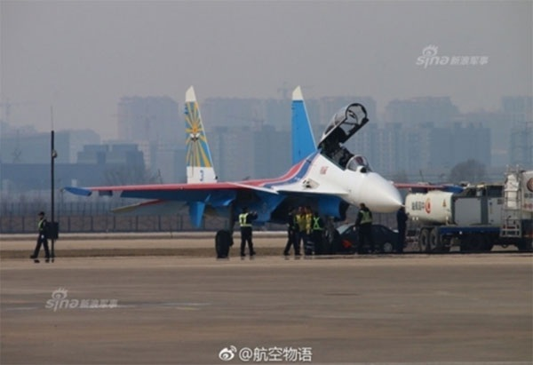 Hình ảnh phi đội Su-30SM dũng mãnh tại Nội Bài - 6