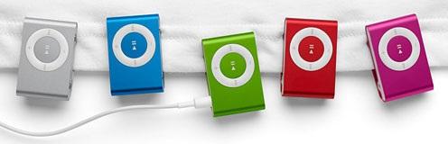 ... và iPod Shuffle