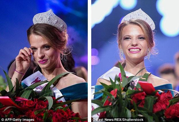 Aleksandra Chichikova xúc động trong giây phút đăng quang. Cuộc thi cấp quốc tế này được tổ chức sau bốn kỳ tổ chức thành công cuộc thi Hoa hậu Xe lăn Ba Lan. Vừa qua, cuộc thi đã được tổ chức tại thành phố Warsaw, Ba Lan.