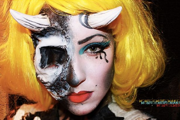 Những ý tưởng trang điểm kinh dị cho ngày lễ Halloween - 9