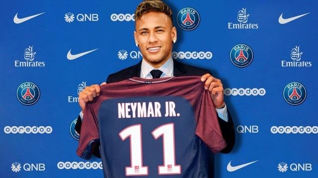 Neymar gia nhập PSG với giá 222 triệu euro