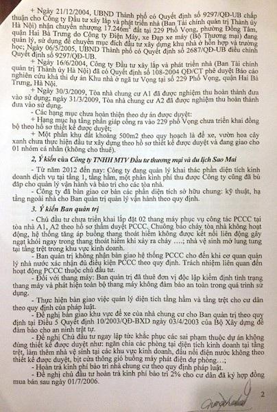 Cư dân cụm chung cư 229 Phố Vọng kêu cứu: Sống trong sợ hãi! - 3