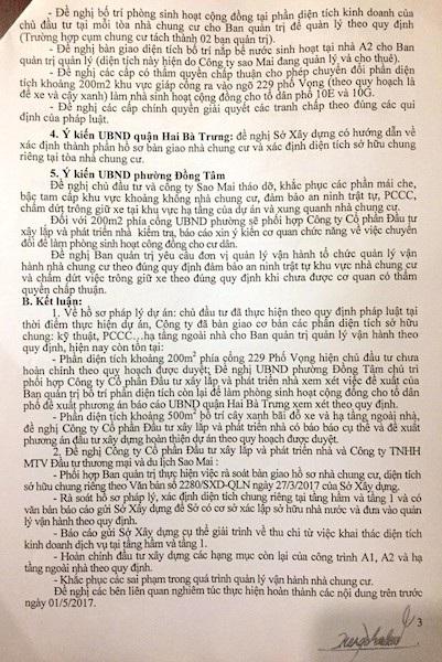 Cư dân cụm chung cư 229 Phố Vọng kêu cứu: Sống trong sợ hãi! - 4