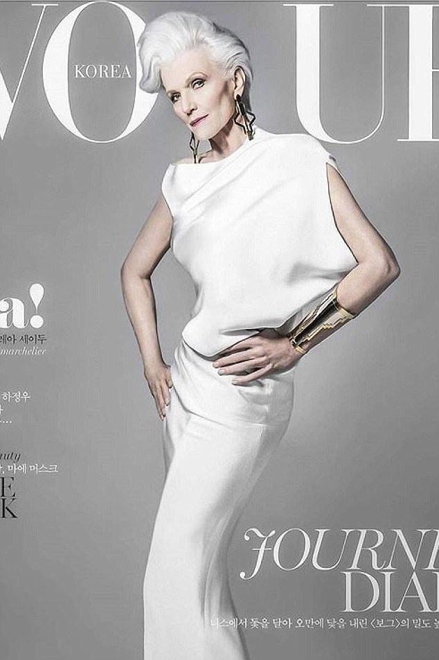 Bà Maye đã xuất hiện trên nhiều bìa tạp chí trong sự nghiệp người mẫu của mình. Hiện tại, khi trào lưu sử dụng người mẫu cao niên trên sàn catwalk trở nên sôi động, bà Maye nhận được rất nhiều sự quan tâm chú ý.