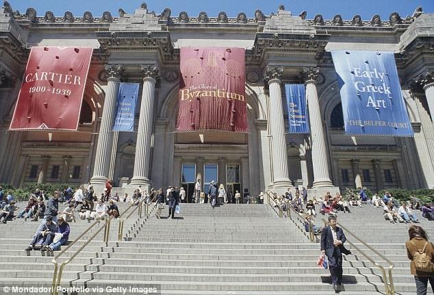 Viện bảo tàng Mỹ thuật Metropolitan nằm ở thành phố New York (Mỹ).