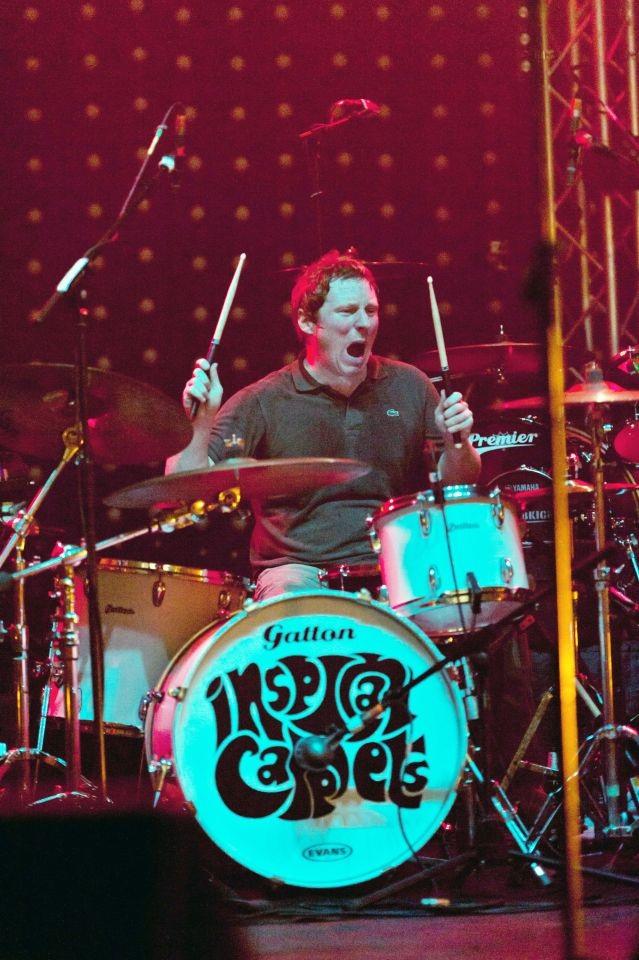 Tay trống Craig Gill (44 tuổi)