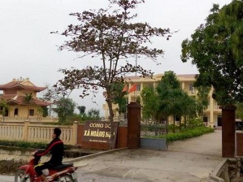 Chủ tịch UBND xã Hoằng Hợp Lê Huy Cường được UBND huyện Hoằng Hóa tiếp nhận giữ chức vụ Trưởng phòng Nông nghiệp nhưng lại qua mặt Chủ tịch tỉnh (Ảnh: Công sở xã Hoằng Hợp)