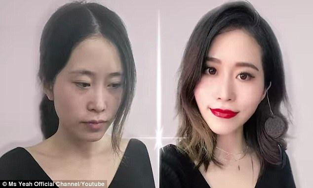 Một cô gái người Trung Quốc có biệt danh Ms. Yeah mới đây đã gây sốt với clip đăng tải lên YouTube, trong đó, cô trang điểm cho toàn bộ gương mặt chỉ dùng… đồ ăn.