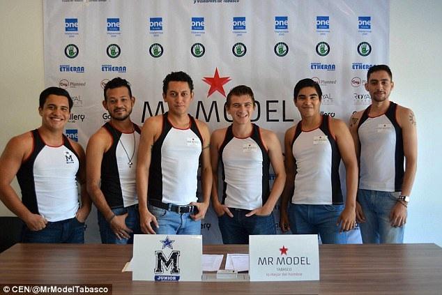 """Sau cùng, chỉ có 6 nam giới đến đăng ký tham gia """"Mr Tobasco 2017"""" khi cuộc thi bắt đầu nhận hồ sơ đăng ký dự thi."""
