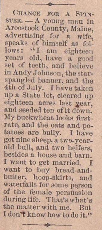 """Chuyện """"đàn ông tìm vợ"""" cách đây hơn 150 năm - 3"""