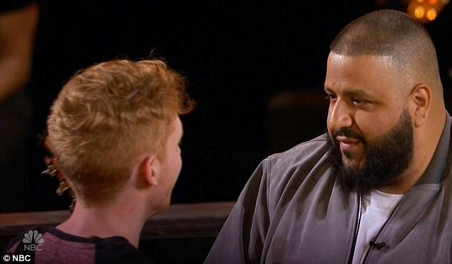 DJ Khaled - giám khảo khách mời của đêm vòng loại thứ 2 - đã khẳng định với Chase rằng cậu sẽ trở thành một ngôi sao.