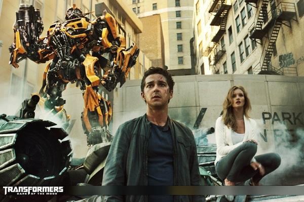 """Shia LaBeouf trong loạt phim người máy biến hình """"Transformers"""""""