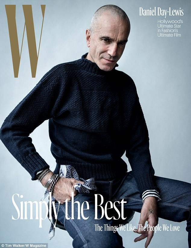 Daniel xuất hiện trên trang bìa của tờ tạp chí W mới đây.