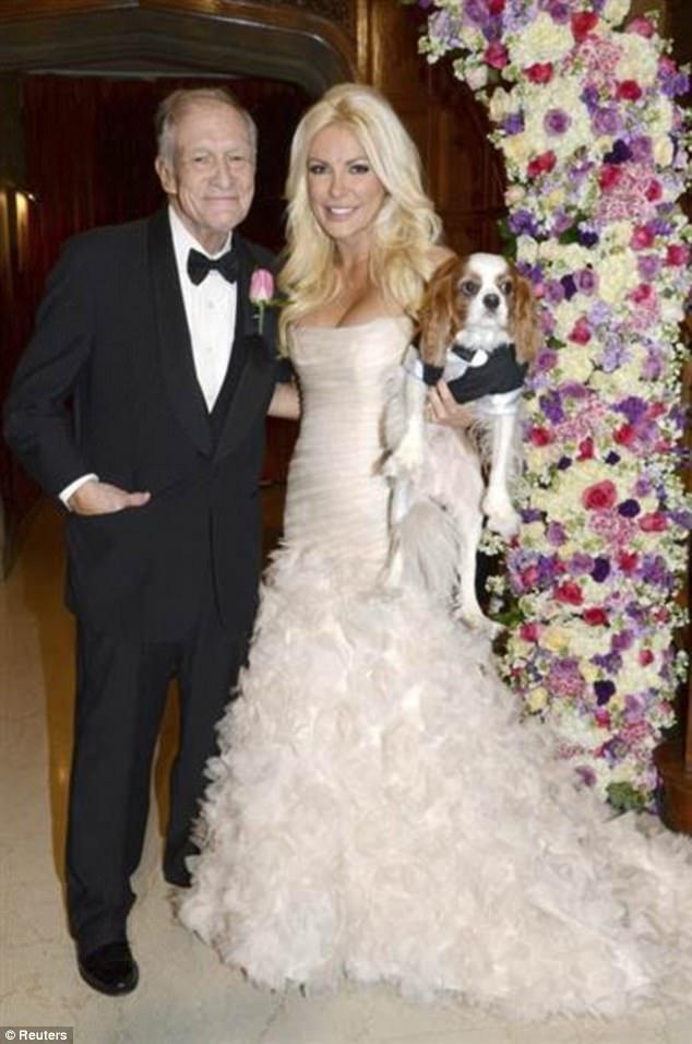 Cuộc hôn nhân thứ 3 của ông Hefner với Crystal Harris.