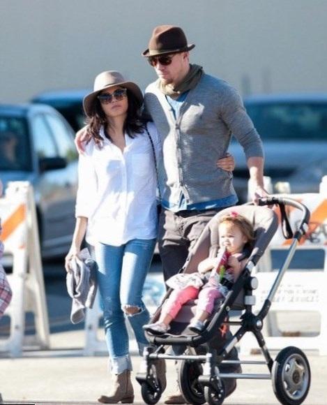 """Nam diễn viên Channing Tatum biết rằng mình sẽ là một người cha """"lo lắng thái quá""""."""
