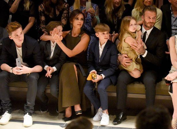 """David Beckham không bao giờ cảm thấy nuối tiếc khi là """"ông bố của gia đình""""."""
