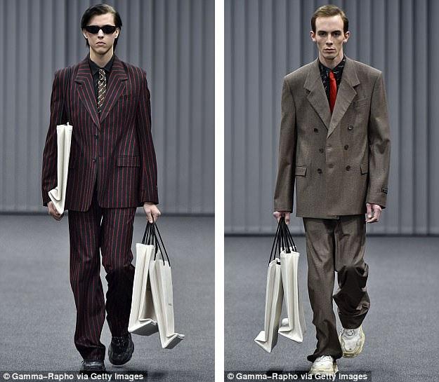 Mẫu túi xách hiện đang gây sốt này đã từng xuất hiện trong bộ sưu tập của thương hiệu thời trang đình đám tại Tuần lễ Thời trang Paris.