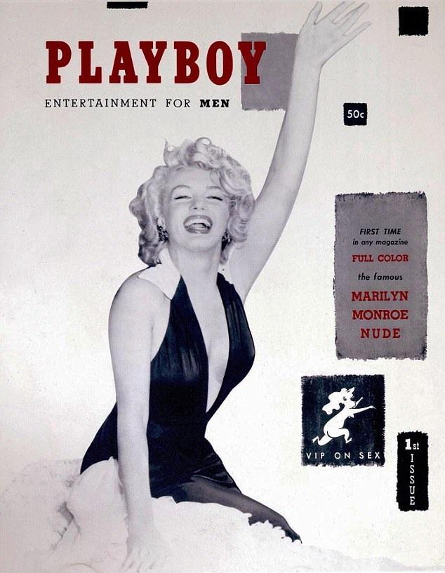 Ấn bản đầu tiên của tạp chí Playboy ra tháng 12/1953 đã khắc họa nàng Marilyn Monroe. Nhưng thời này, Marilyn còn là một người đẹp không tên tuổi và ông Hugh Hefner đang trong cuộc hôn nhân đầu. Hai người nhanh chóng lướt qua nhau, thực tế, họ chưa từng có cơ hội để thực sự quen biết nhau.
