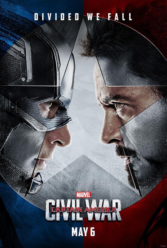 """""""Captain America: Nội chiến"""" - phim có doanh thu kỷ lục phòng vé năm 2016."""