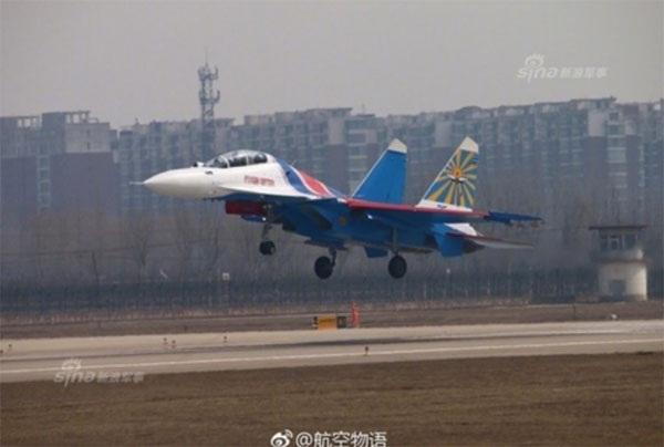 Hình ảnh phi đội Su-30SM dũng mãnh tại Nội Bài - 8