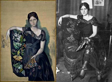 Người vợ đầu của Picasso - Olga Khokhlova