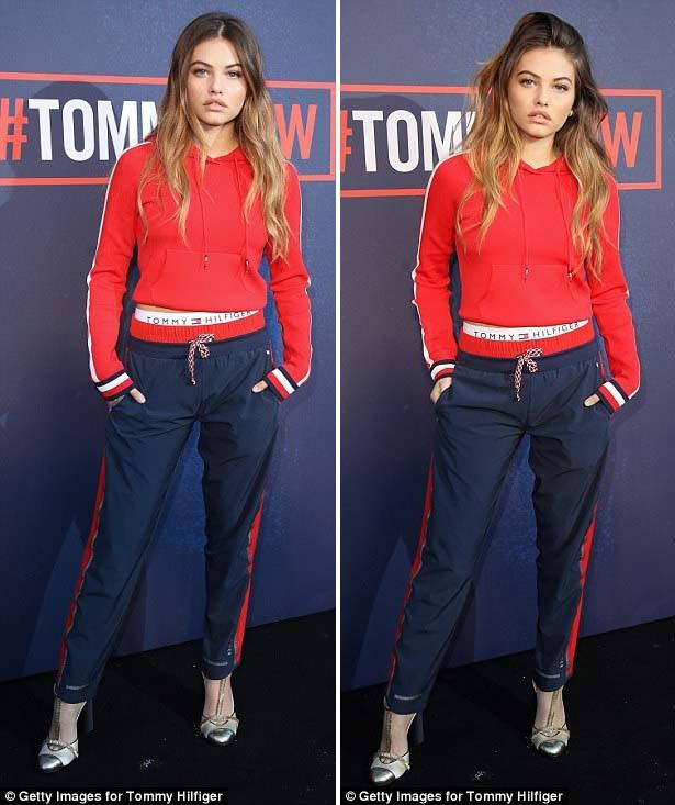 Sau New York Fashion Week, Thylane liền bay ngay tới London để tiếp tục làm khách mời tại một số show của Tuần lễ Thời trang London. Cô gái trẻ đang quyết tâm đẩy mạnh hình ảnh và tên tuổi của mình trong làng mốt quốc tế.