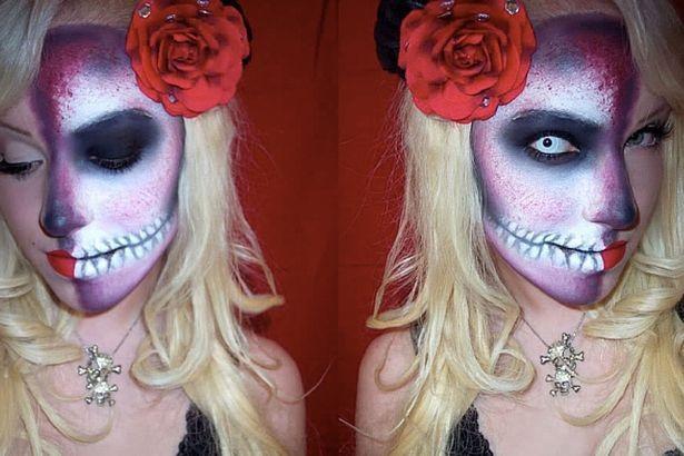 Những ý tưởng trang điểm kinh dị cho ngày lễ Halloween - 11