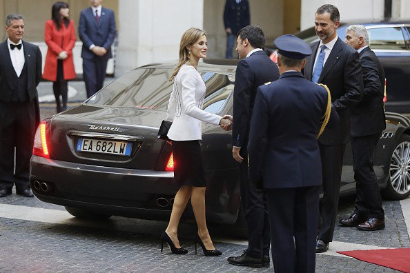 Maserati được sử dụng làm phương tiện đưa đón các chính khách tại Ý