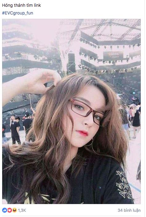 Bức ảnh hot girl EDM được cộng đồng yêu nhạc điện tử Việt Nam săn lùng
