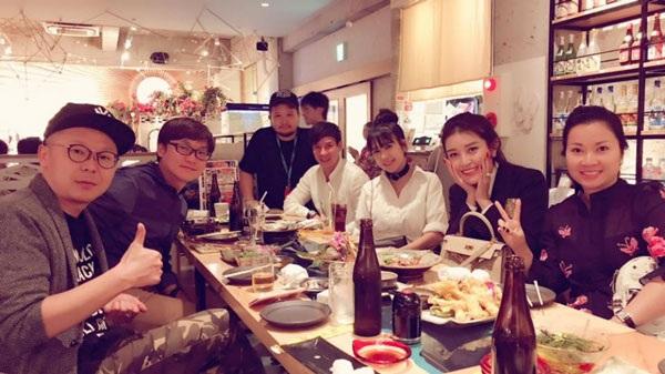 Huyền My đến Nhật Bản cùng vợ chồng Lý Hải - Minh Hà và nhận được sự tiếp đón đặc biệt từ phía BTC.