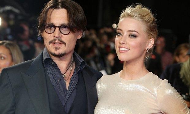 Johnny Depp và vợ cũ Amber Heard