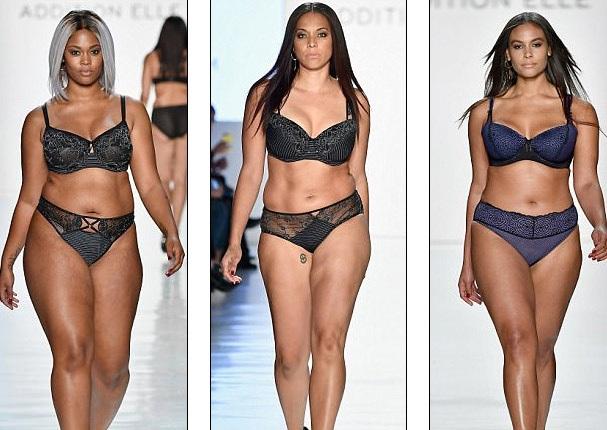 """Dàn người mẫu ngoại cỡ """"đổ bộ"""" tuần lễ thời trang New York - 11"""