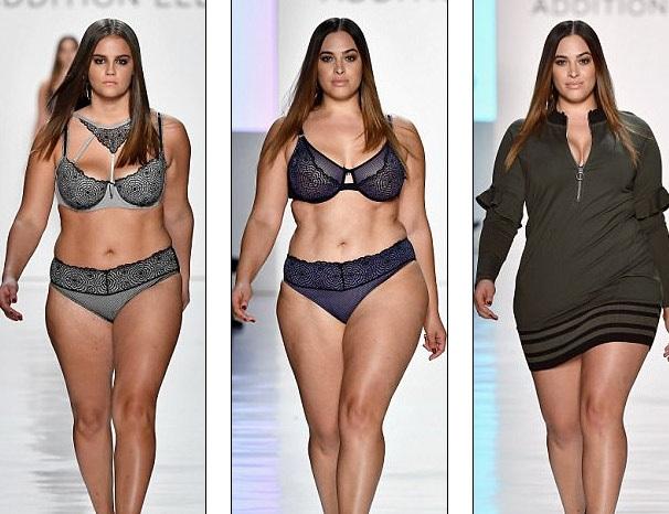 """Dàn người mẫu ngoại cỡ """"đổ bộ"""" tuần lễ thời trang New York - 13"""