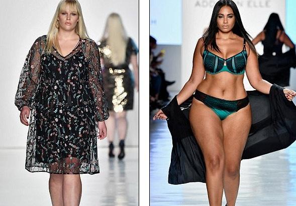 """Dàn người mẫu ngoại cỡ """"đổ bộ"""" tuần lễ thời trang New York - 15"""