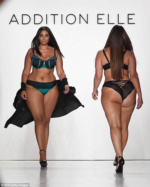 """Dàn người mẫu ngoại cỡ """"đổ bộ"""" tuần lễ thời trang New York - 4"""