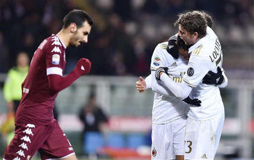 Nhưng AC Milan đã xuất sắc san bằng tỷ số 2-2
