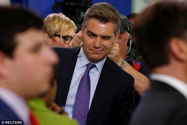 Phóng viên Jim Acosta (Ảnh: Reuters)