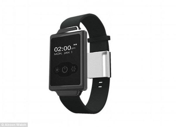 Aircon Watch có màn hình công nghệ OLED với tính năng luôn mở