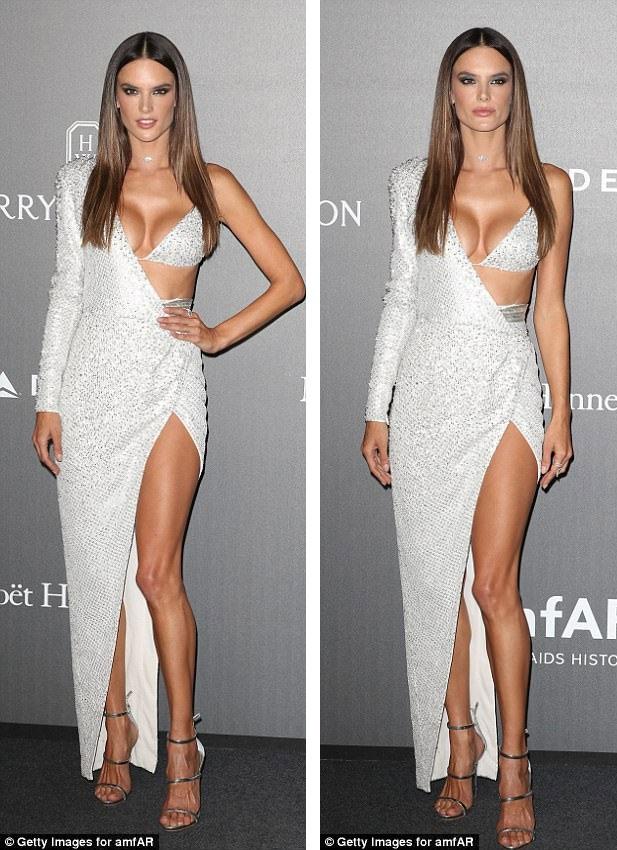 Alessandra Ambrosio có mặt tại Ý thời điểm này để tham dự các hoạt động của tuần lễ thời trang Milan.
