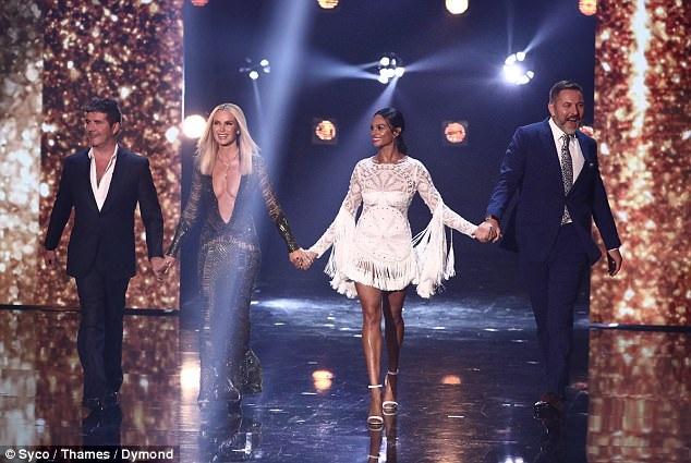 Dàn giám khảo của show gồm Simon Cowell, Amanda Holden, Alesha Dixon và David Walliams