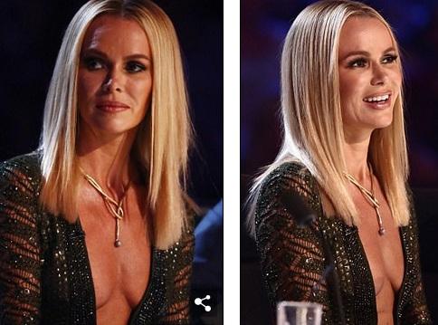 Amanda Holden luôn được đánh giá cao bởi sự thay đổi và biến hóa trong thời trang