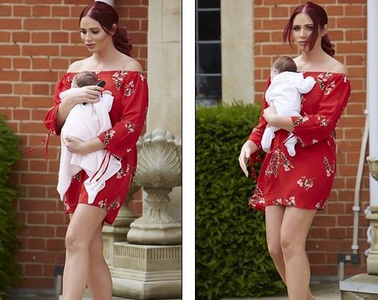 Người đẹp 27 tuổi mới sinh con đầu lòng hôm 30/4 vừa qua và đã lấy lại dáng rất nhanh
