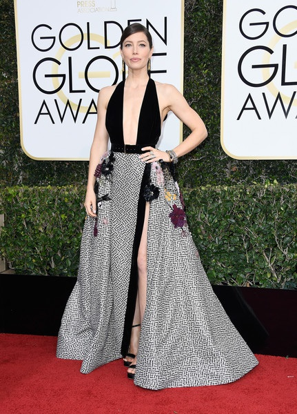 Jessica Biel xuất hiện nổi bật trên thảm đỏ lễ trao giải Quả Cầu Vàng