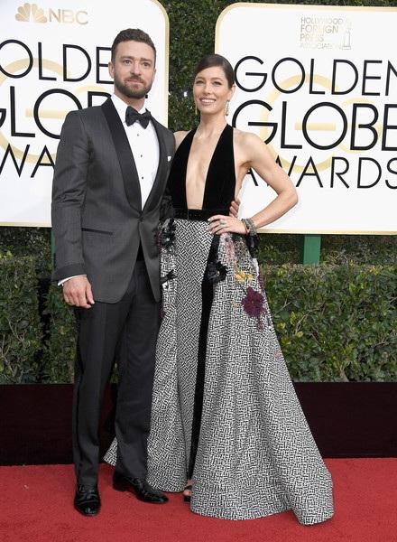 """Cô tới cổ vũ chồng Justin Timberlake - người được đề cử cho nhạc nền phim xuất sắc nhất với ca khúc trong phim """"Can't Stop the Feeling"""""""